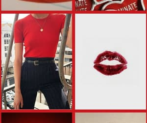 aesthetics, france, and red image