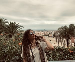 Barcelona, curls, and outfit image