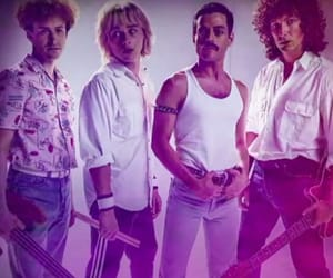 Queen, roger taylor, and bohemian rhapsody image