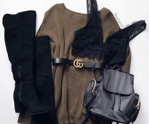 belt, backpack, and boots image