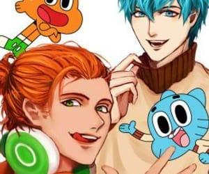 anime, cartoon network, and darwin image