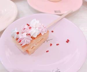 kawaii, pink, and pink food image