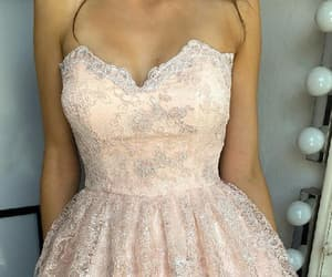 short prom dresses, homecoming dresses lace, and homecoming dresses a-line image