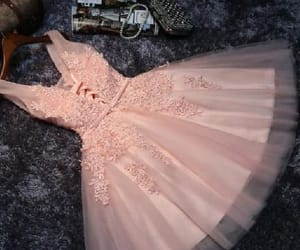 short prom dresses, pink prom dresses, and homecoming dresses 2018 image