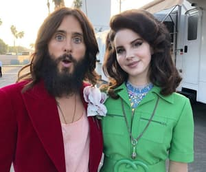 gucci, lana del rey, and jared leto image