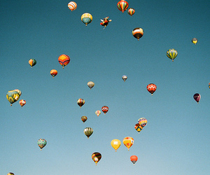 ballons, colors, and globe image