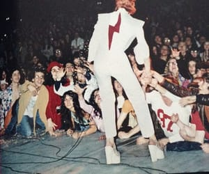 70's, bowie, and cool image