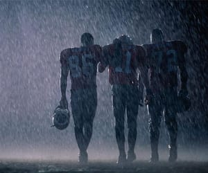 rain, american football, and team image