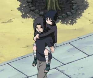 anime, itachi, and sasuke image