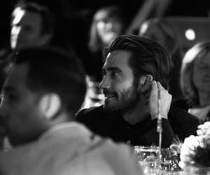 jake gyllenhaal, actor, and black and white image