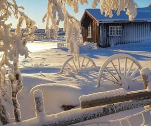 beautiful, place, and snow image