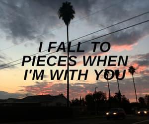 aesthetic, cherry, and Lyrics image