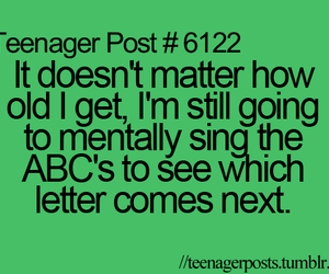 ABC, funny, and teenager image
