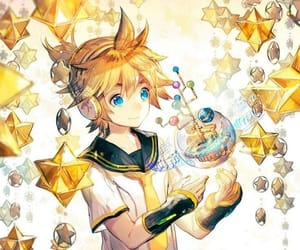 vocaloid, kagamine, and len image