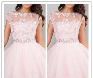 homecoming dress, cute homecoming dresses, and pink homecoming dresses image
