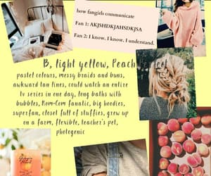 aesthetic, pastel colours, and peaches image