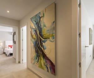 corridor, design, and hallway image