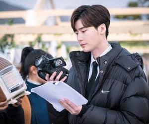 model, lee jong suk, and korean actor image