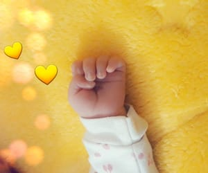 baby, mine, and yellow image
