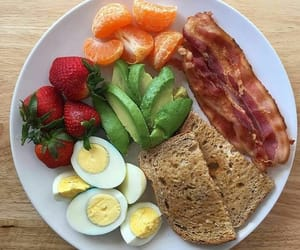 avocado, bacon, and delicious image