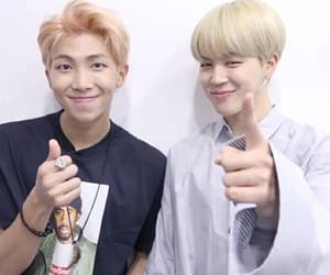 bts, namjoon, and jimin image