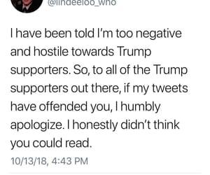 apology, honestly, and hostile image