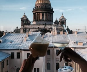 architecture, beauty, and coffee image