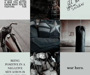 aesthetic, captain america, and Marvel image