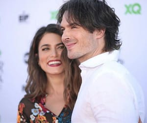 couple, ian somerhalder, and nikki reed image