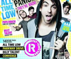 alex gaskarth, atl, and cover image