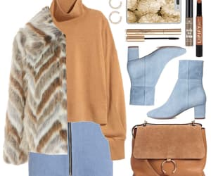 streetstyle, ootd, and winter-outfit image