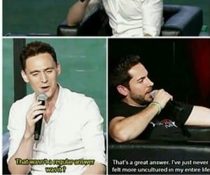 tom hiddleston, funny, and shakespeare image