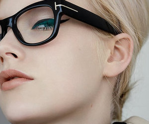 glasses, girl, and beauty image