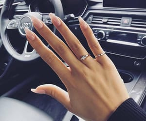 nails, car, and style image