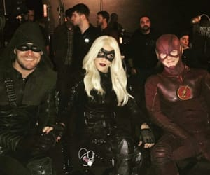 arrow, DC, and katie cassidy image