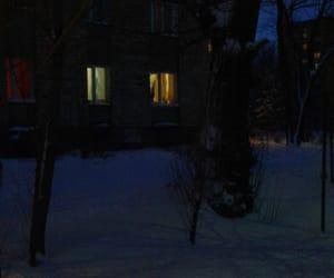 blue, evening, and Синий image