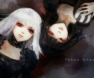 tokyo ghoul, anime, and sisters image