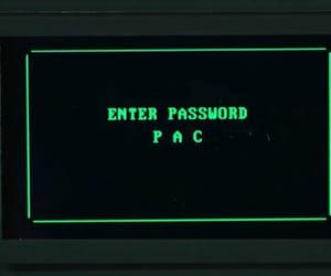 pac, password, and black mirror image
