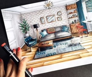 cozy, sketch, and décoration image