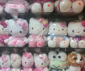 aesthetic, pastel, and hello kitty image