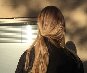 hair, aesthetic, and blonde image