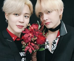 v, selca, and bts image