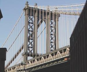 bridge, new york, and city image