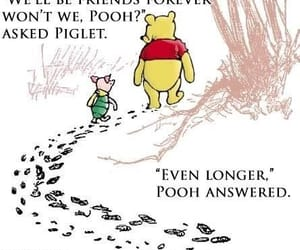 friend, winnie the pooh, and friendship image
