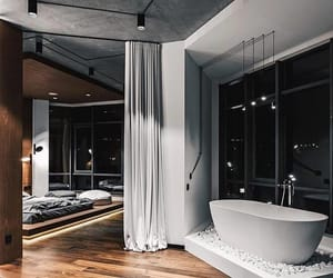 home, bathroom, and bedroom image