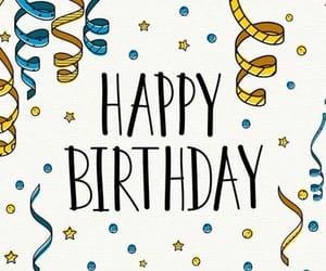 birthday, confetti, and congratulations image