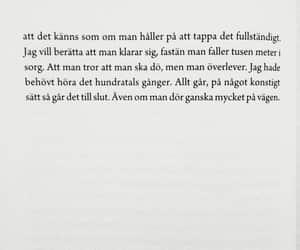depression, swedish, and pojkvän image