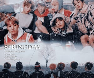 army, bts, and spring day image