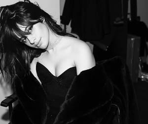 camila cabello, black and white, and fifth harmony image