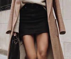 coats, fashion, and skirt image